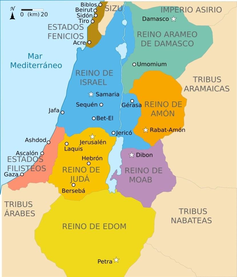 Un estudio revela que los Filisteos procedían de Europa